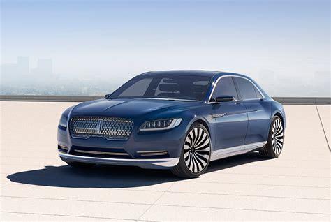 lincoln continental new lincoln continental concept new york auto show 2015