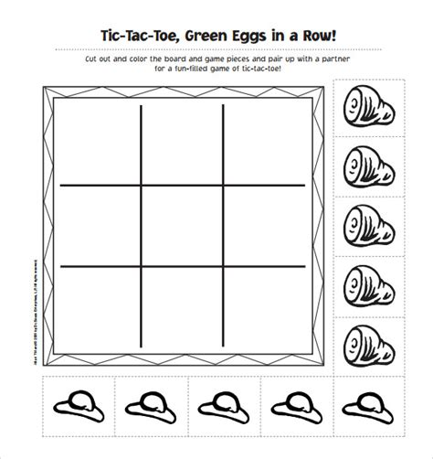 math tic tac toe template sle tic tac toe template 9 free documents in pdf doc