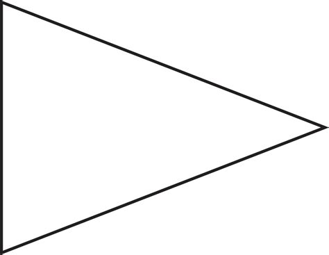 triangle banner template clipart best