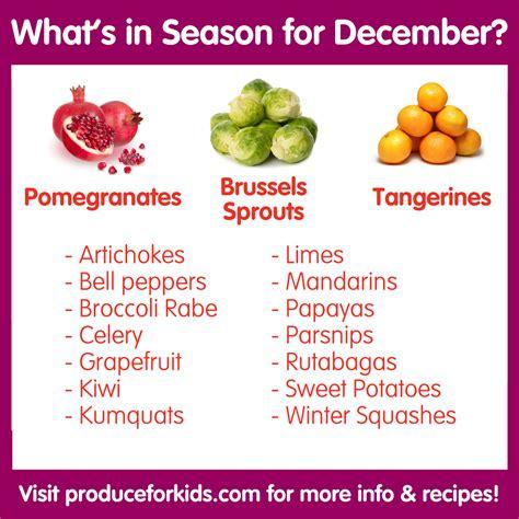 season for what s in season for december weeklybite