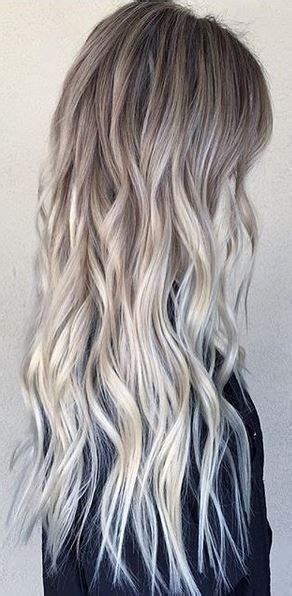 balayage cover gray hair 17 best ideas about blonde sombre on pinterest blonde