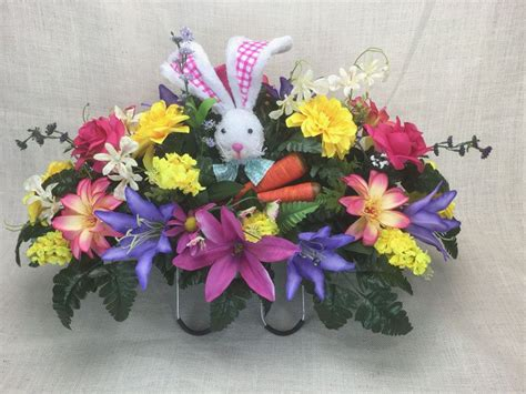 headstone flower arrangement ideas 87 best images about cemetery headstone saddle vase