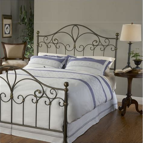 gold metal headboard hillsdale meade metal silver gold headboard ebay