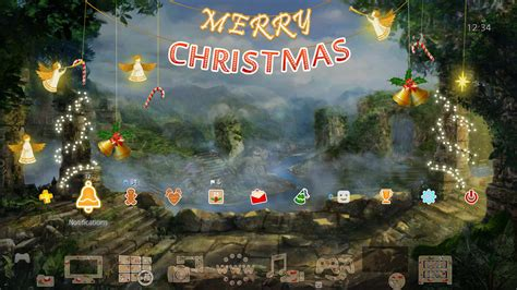 ps4 personal themes the treasures of montezuma 4 christmas theme on ps4