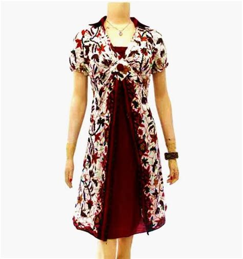 Celana Pendek Batik B31017003 Bawahan Cewek Batik Motif Monokrom dress batik modern
