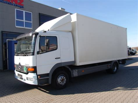 mercedes box truck for sale mercedes db 1228 atego box truck from germany for