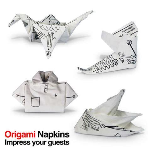 Origami Napkin - origami napkins gifts zavvi