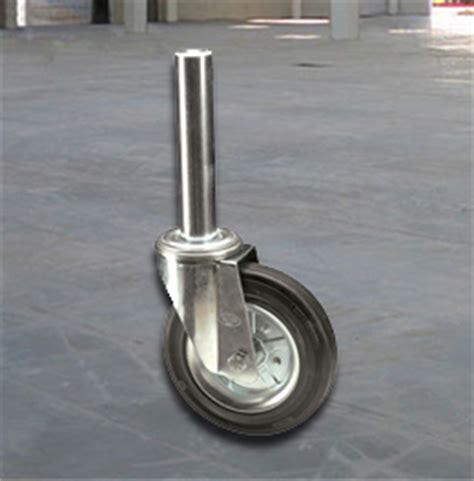 ponteggi mobili per edilizia omo rocarr ruote in gomma per carrelli cassonetti ponteggi