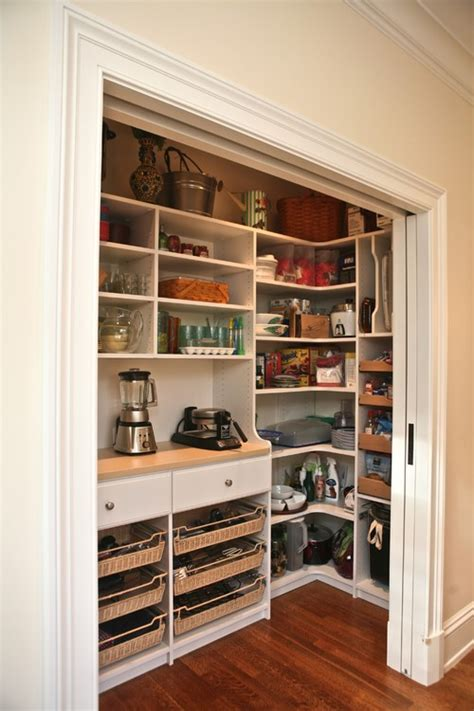 Pantry Closet Design by Pantry Cabinets Vs Bifold Closet