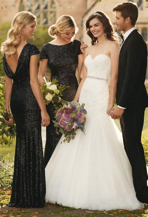 Black Bridesmaid Dresses by Don T Miss These 22 Black Bridesmaid Dresses For Your Fall