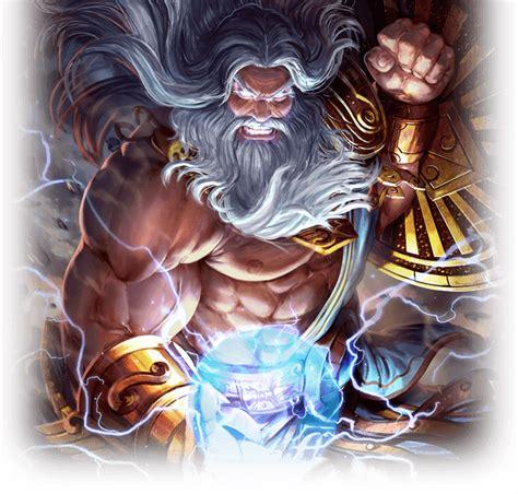imagenes de dios zeus zeus dios griego dioses smite