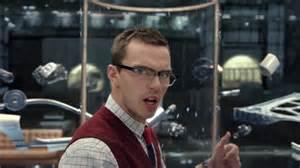 Jaguar Ad Actors Nicholas Hoult Sports Bookish Spectacles To Play Against