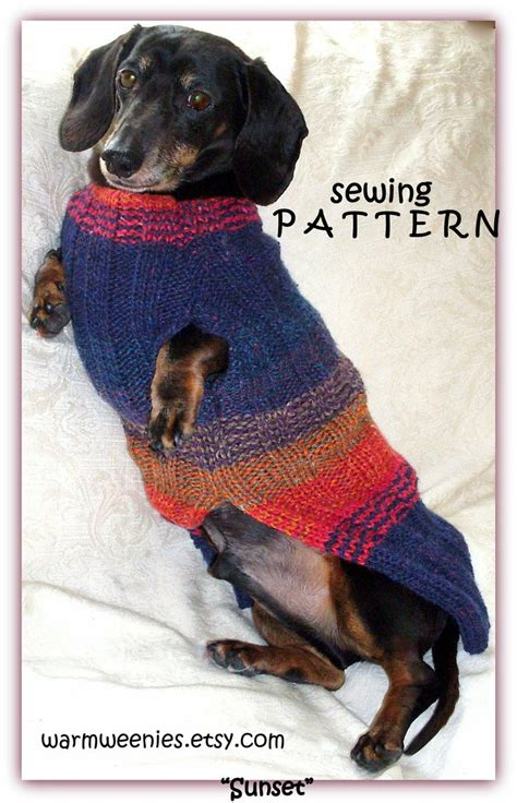 pattern for dachshund dog coat 1000 images about clothes for dachshunds on pinterest