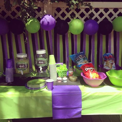 grave digger monster truck birthday party supplies party decor balloon and streamer backdrop grave digger