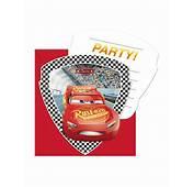 6 Inviti Di Compleanno Con Buste Cars 3™ Su VegaooParty