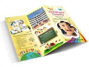 school brochure design templates genyx infotech brochure designing
