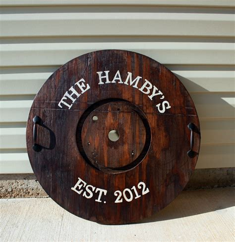 Jutop Wood Wooden Type Word Tray diy wooden spool tray the hamby home