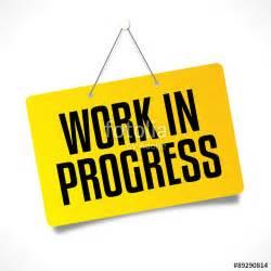 quot work in progress quot fichier vectoriel libre de droits sur la banque d images fotolia com image