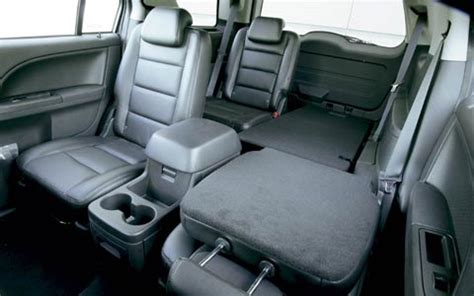 2005 Ford Freestyle Interior by 2005 Ford Freestyle Rear Interior View Photo 6