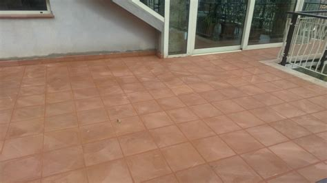 rifacimento terrazzo progetto rifacimento terrazzo con pavimento in terracotta