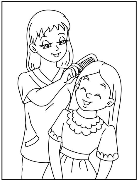 coloring pages with mom 17 best images about mother s day on pinterest happy