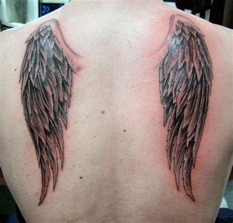 angel tattoo hd images hd cross angel wings tattoo design idea