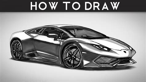 lamborghini huracan sketch how to draw a lamborghini huracan by