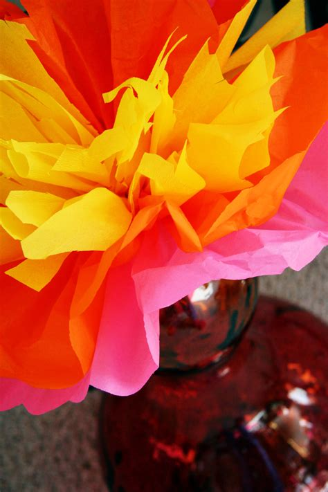 How To Make Tissue Paper Flames - quot tissue paper quot craft search cy birthday