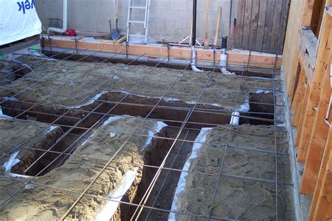 How To Build A Concrete Foundation For A Shed by Concrete Foundation Footing And Room Addition Ready To