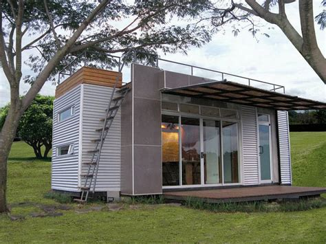Casa Cúbica, a tiny container home Small House Bliss