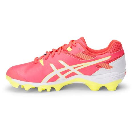 asics gel lethal touch pro 6 womens turf shoes neon