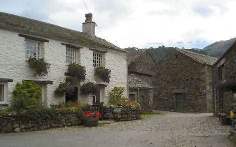 Rosthwaite Cottages by Borrowdale