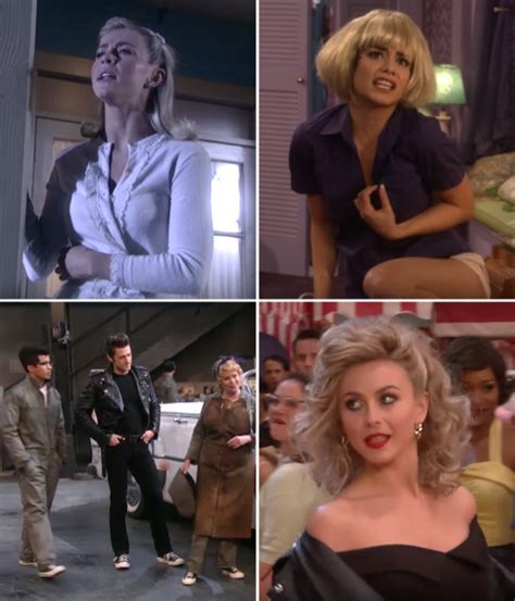 Who Wore Godfrey Better Hudgens Or Julianne Hough by Grease Live Performances Julianne Hough