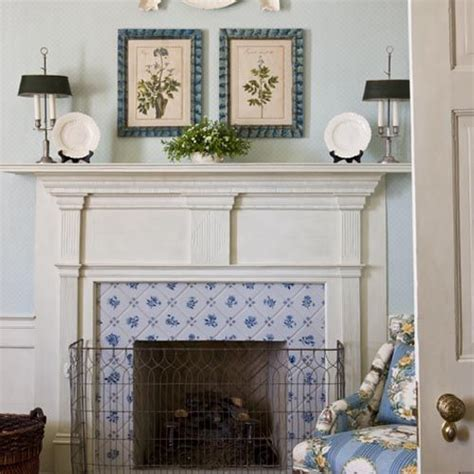Delft Fireplace Tiles fireplace carr co the country