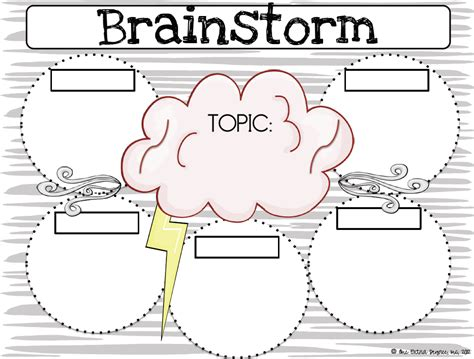 Brainstorming Templates For Students nose to the grindstone mode one degree