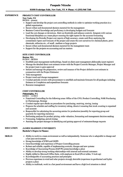 Fandb Cost Controller Sle Resume by Fandb Cost Controller Cover Letter Occupational Health Technician Cover Letter