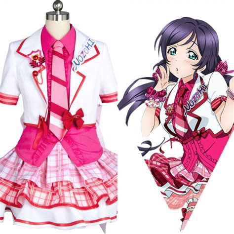 Shf Nozomi Tojo Live Ori Bandai nozomi tojo live after school activity dress costume skycostume