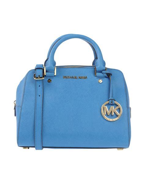 M Hael Kors Bag Blue by Lyst Michael Michael Kors Handbag In Blue