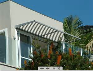 modern awning new home