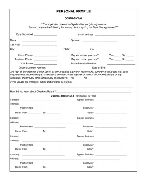 printable job applications for rue 21 free printable checkers drive in job application form page 3