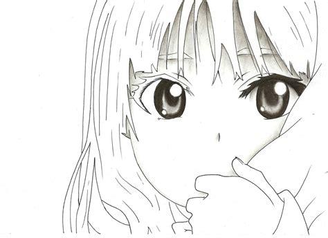 imagenes para dibujar a lapiz carboncillo mi dibujo de anime al carboncillo arte taringa