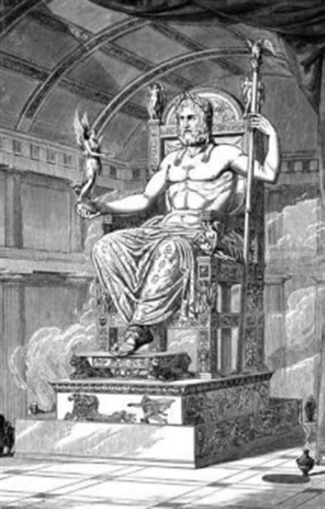 imagenes de la estatua del dios zeus estatua de zeus en olimpia descubre las maravillas