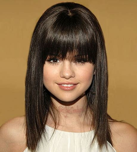 Hairstyles For Medium Hair With Bangs For Teenagers by Medium Haircuts For