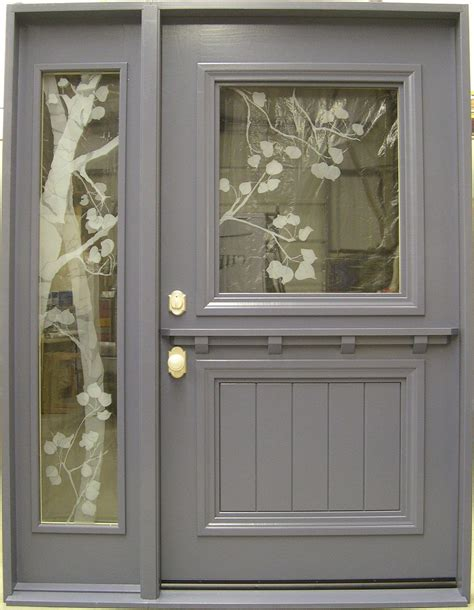 Grey Exterior Door Grey Exterior Door Exterior Door For Opening Door Stair Design