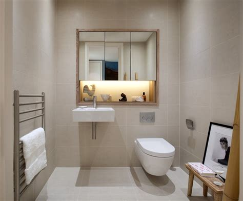 Luxury Powder Room Vanities Penthouse Refurbishment In London S Financial District