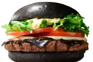 Burgers In Burger King Launches Black Burger With Charcoal Cheese