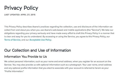 store privacy policy template cancellation policy template fiftythree 30 days return