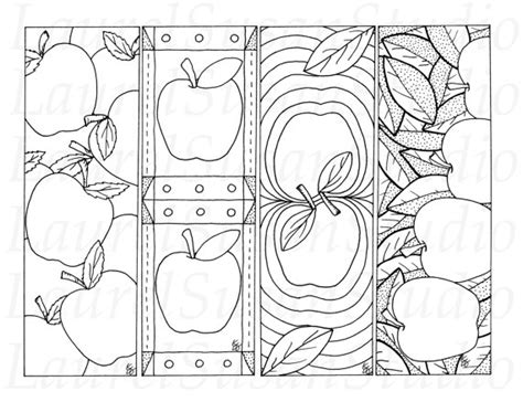 bookmark template for apple pages 5 best images of autumn bookmarks free printable