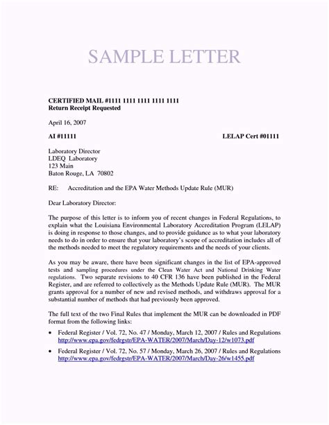 certification letter sle template template update234