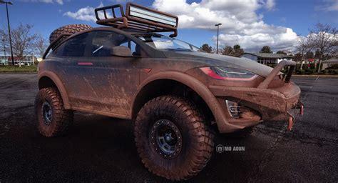 Tesla Model X Off Roader Looks Dakar Ready